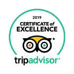 Tripadvicor Certificate of Excellence 2018
